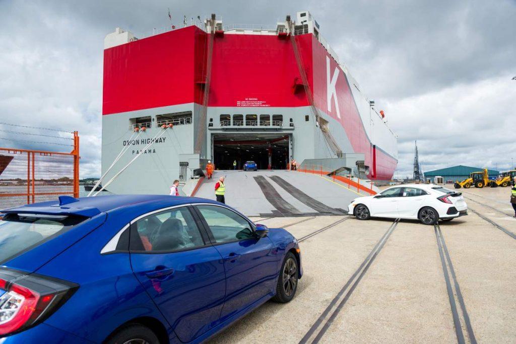 Overseas auto transport
