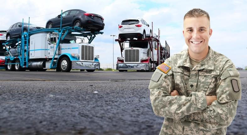 Military auto transport