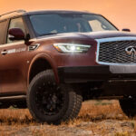 Off(road) and running: INFINITI unleashes the 'Rebelle' within as modified QX80 begins endurance rally